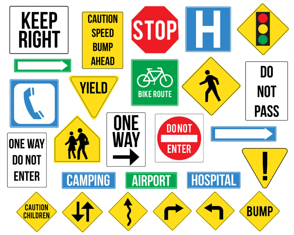 traffic signs - Our Lady of Mercy Catholic Academy