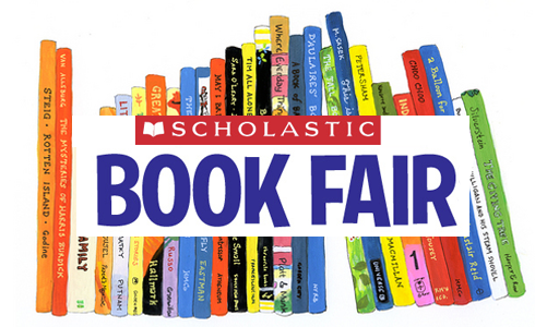 Scholastic Book Fair Graphic - Our Lady of Mercy Catholic Academy